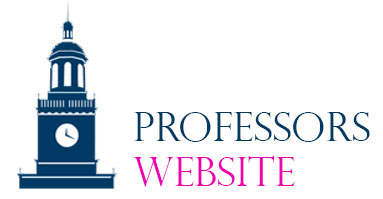 Professors Website Banner